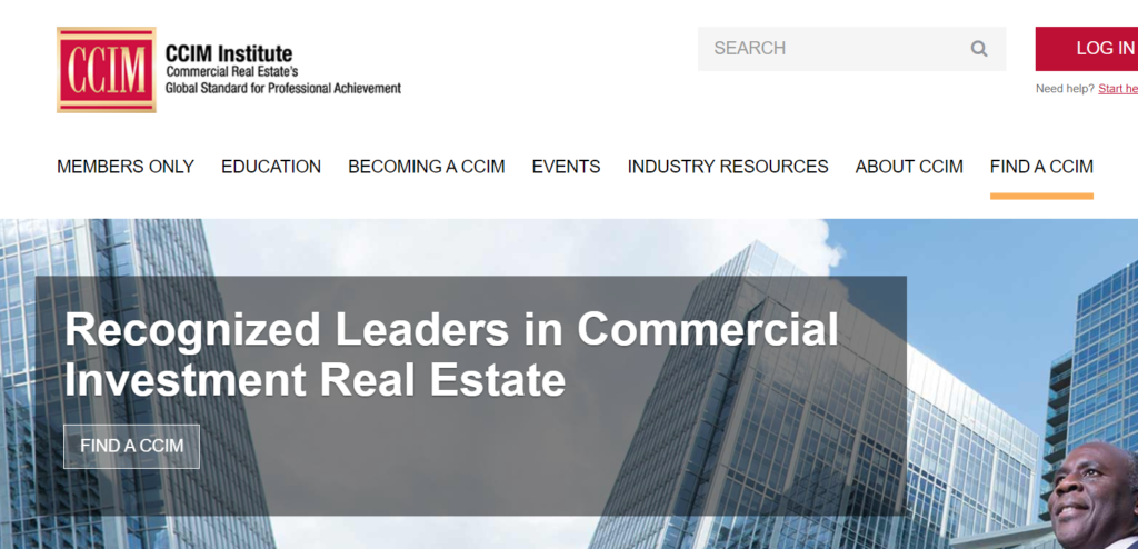 CCIM leaders in commercial real estate investment