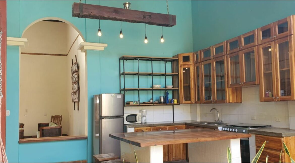 Kitchen and Entrance